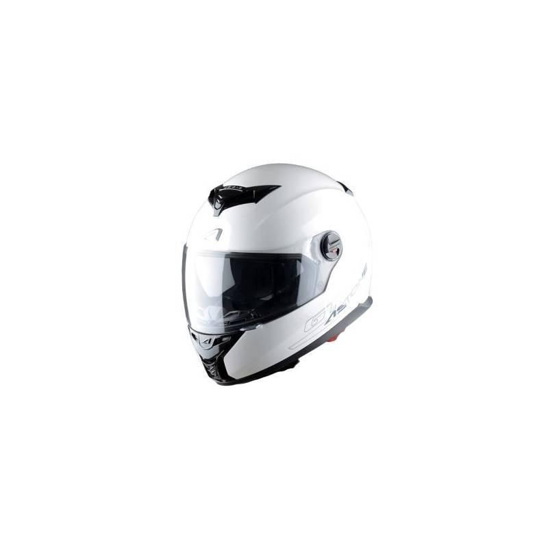 CASCO ASOTONE GT800 SOLID BLANCO VISTA FRONTAL MP Racing