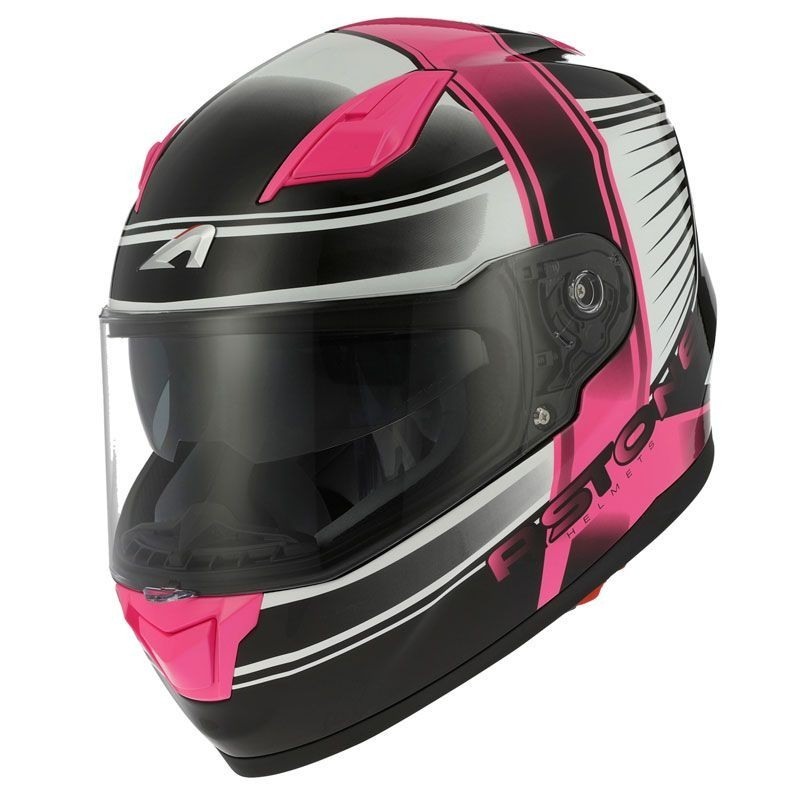CASCO ASTONE GT900 EXCLUSIVE CORSA ROSA VISTA DELANTERA-MP Racing