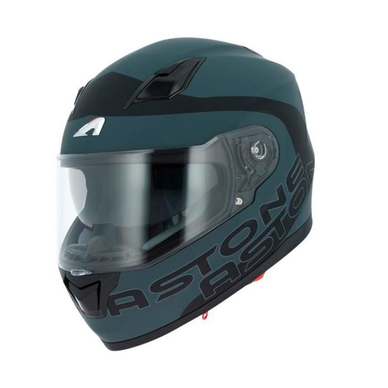 CASCO ASTONE GT900 APOLLO TITANIO VISTA FRONTAL-MP Racing