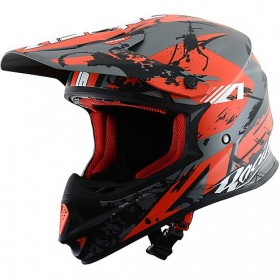 CASCO ASTONE MX600-GIANT BLACK/RED