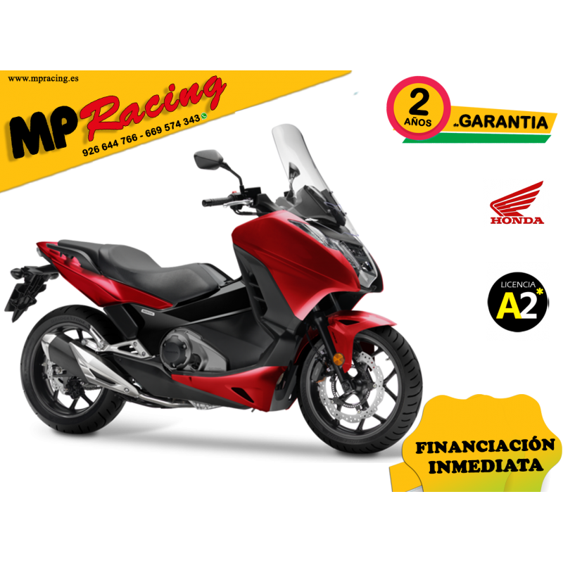 INTEGRA-NC750D COLOR ROJO PROMOCIÓN MP Racing