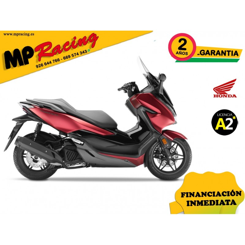 FORZA 125 ABS-NSS125AD COLOR ROJO PROMOCIÓN MP Racing