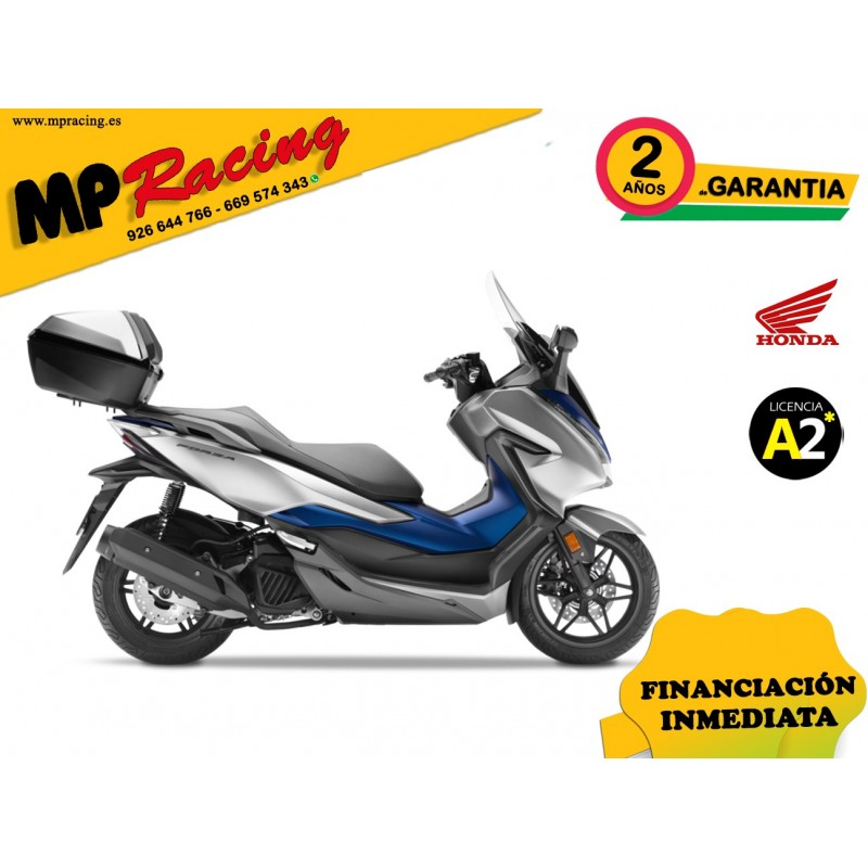 FORZA 125 ABS SMART TOP BOX-NSS125AD COLOR AZUL PERLA DEL PACIFICO PROMOCIÓN MP Racing