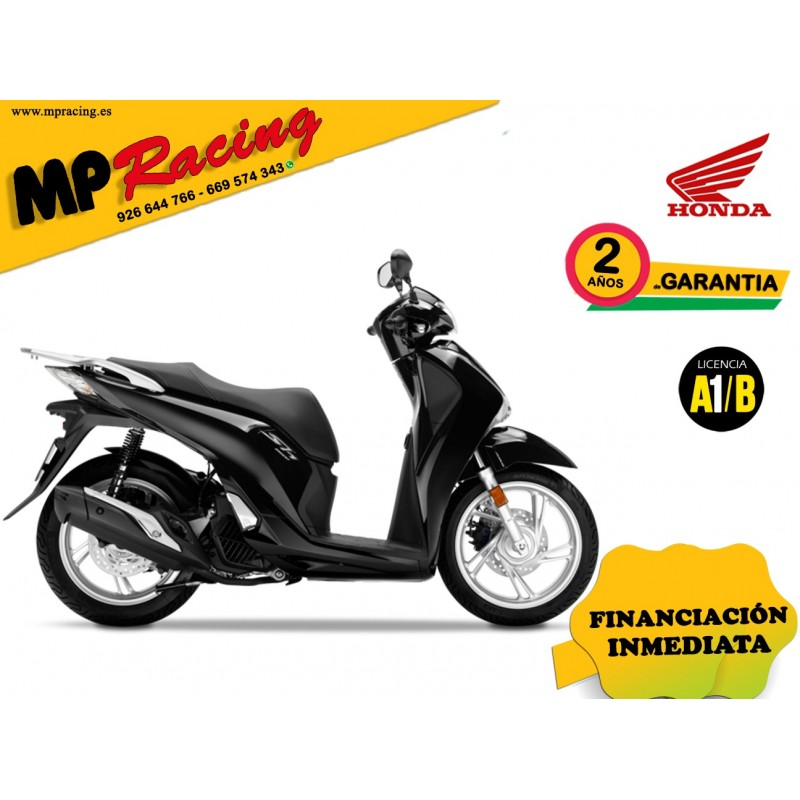 SH125I COLOR NEGRO PROMOCIÓN MP Racing