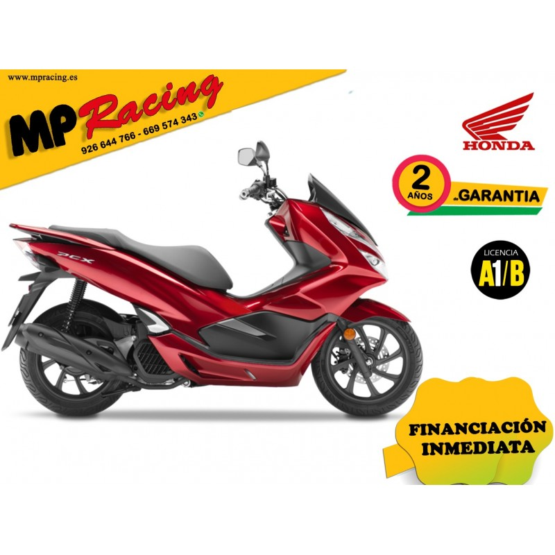 PCX125 COLOR ROJO PROMOCIÓN MP Racing