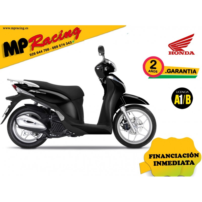 SH MODE 125 COLOR NEGRO PROMOCIÓN MP RACING