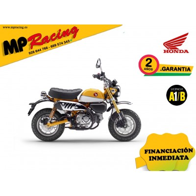 MONKEY COLOR AMARILLO PROMOCIÓN MP Racing