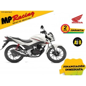 CB125F COLOR BLANCO PROMOCIÓN MP Racing
