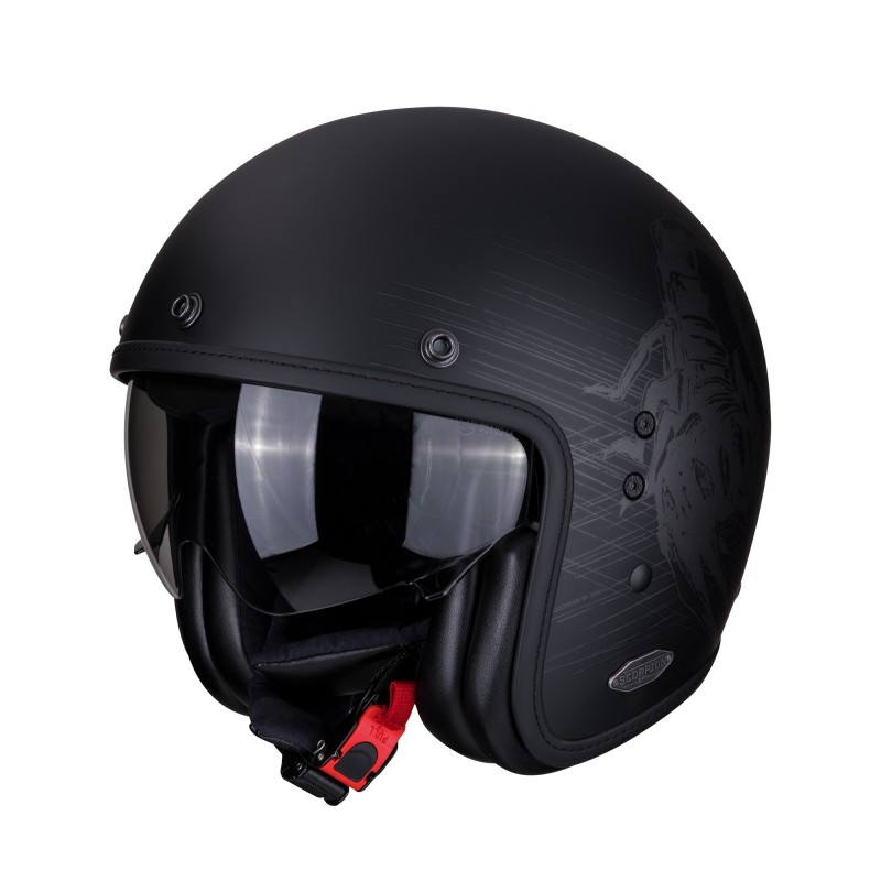 CASCO BELFAST STING MATTE BLACK