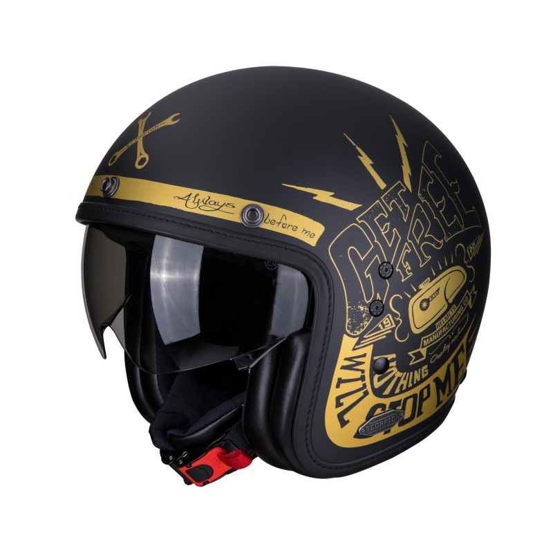 CASCO BELFAST FENDER MATT Black/Gold