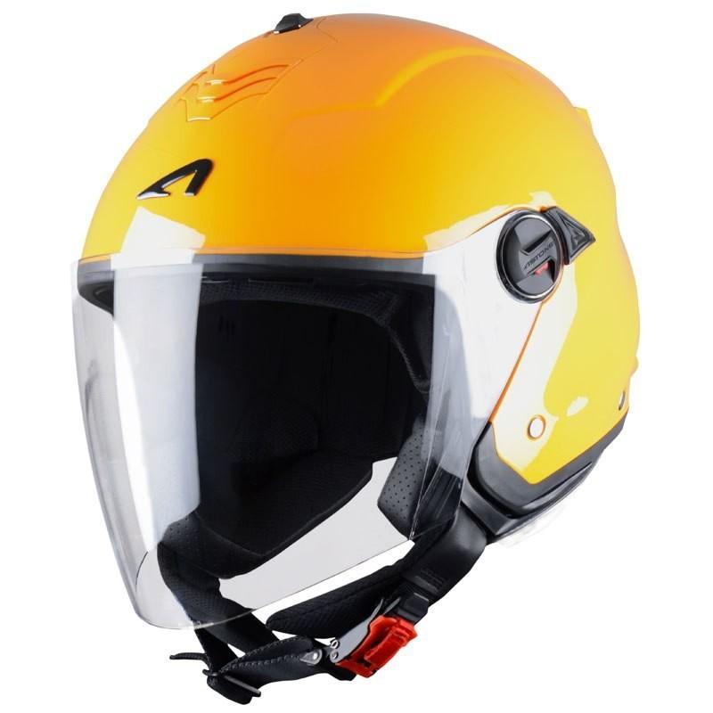 CASCO ASTONE MINIJET S Orange MP Racing