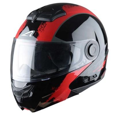 CASCO RT800 GRAPHIC VENOM Black/Red
