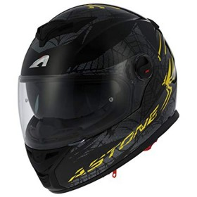 CASCO GT800 EXCLUSIVE SPIDER AMARILLO/NEGRO