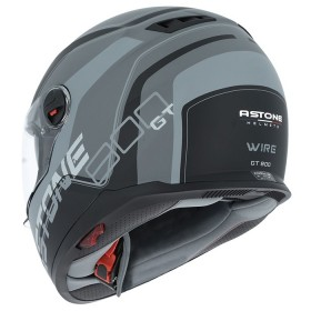 CASCO ASTONE GT800 EXCLUSIVE WIRE NEGRO/GRIS TRASERA