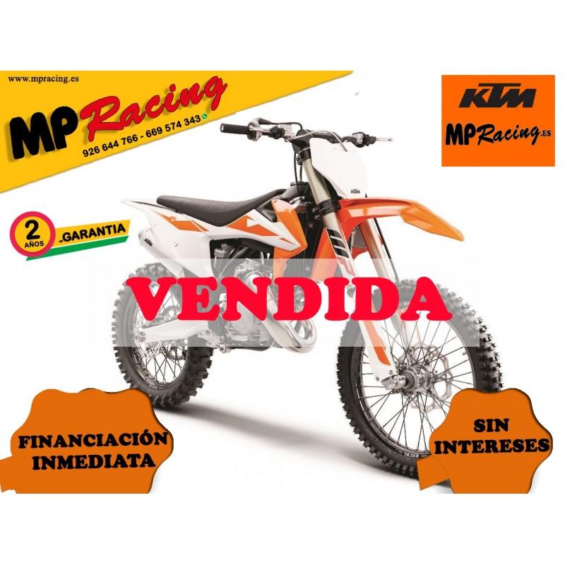 MOTO KTM 125 SX 2019 MP VENDIDA