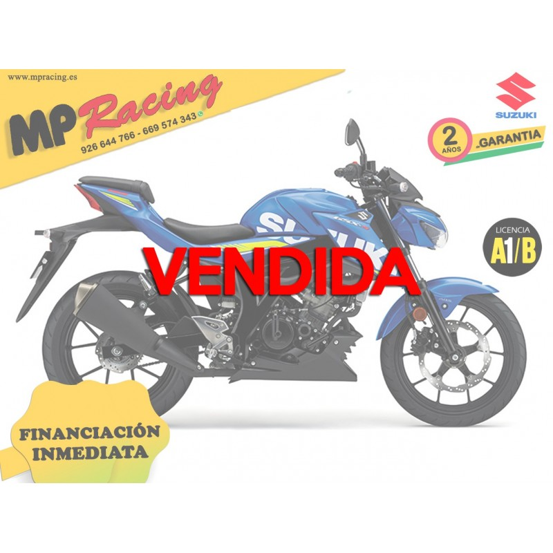 SUZUKI GSX S125Z MP VENDIDA
