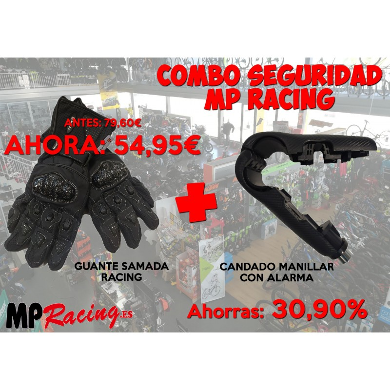 COMBO SEGURIDAD MP RACING