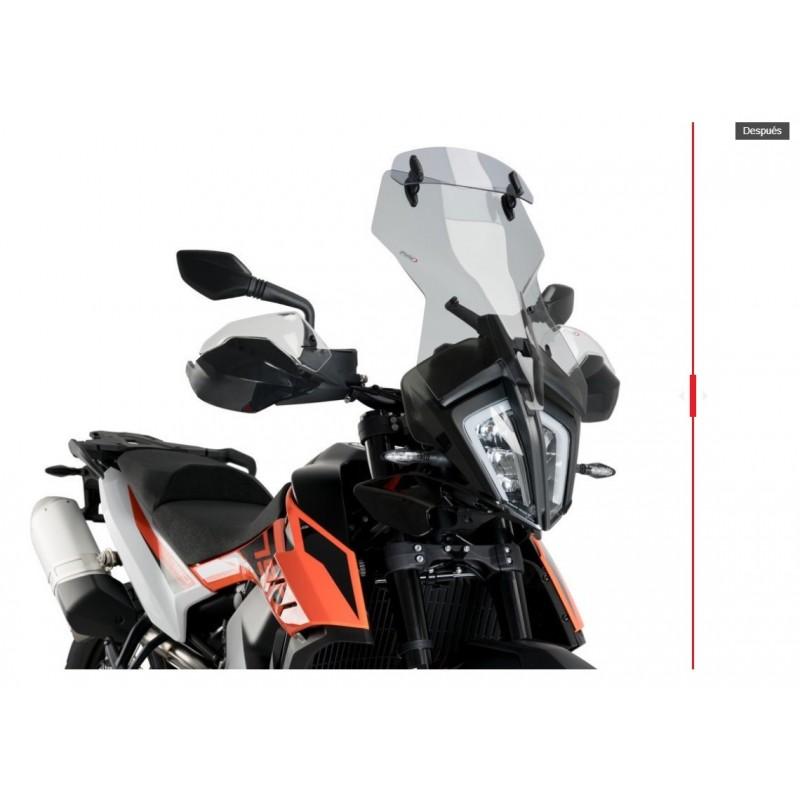 CUPULA TOURING CON VISERA PARA KTM 790 ADVENTURE 2019 DESPUES
