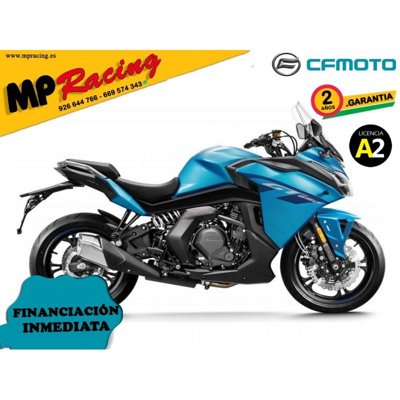 CF MOTO 650 GT AZUL MP