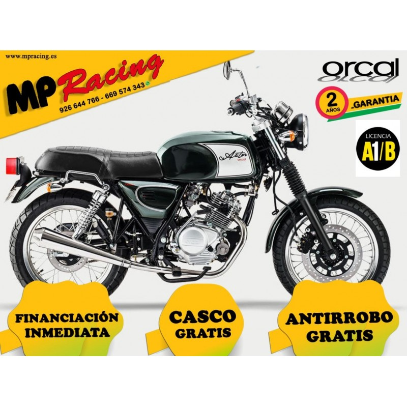 MOTO ORCAL 125 VERDE MP