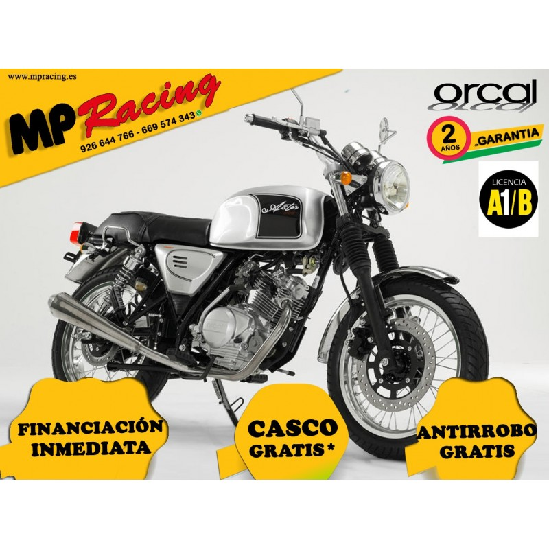 MOTO ORCAL 125 GRIS MP