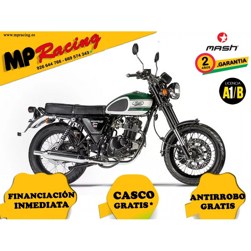 MOTO MASH SEVENTY FIVE VERDE MP