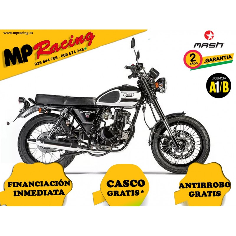 MOTO MASH SEVENTY FIVE NEGRA MP