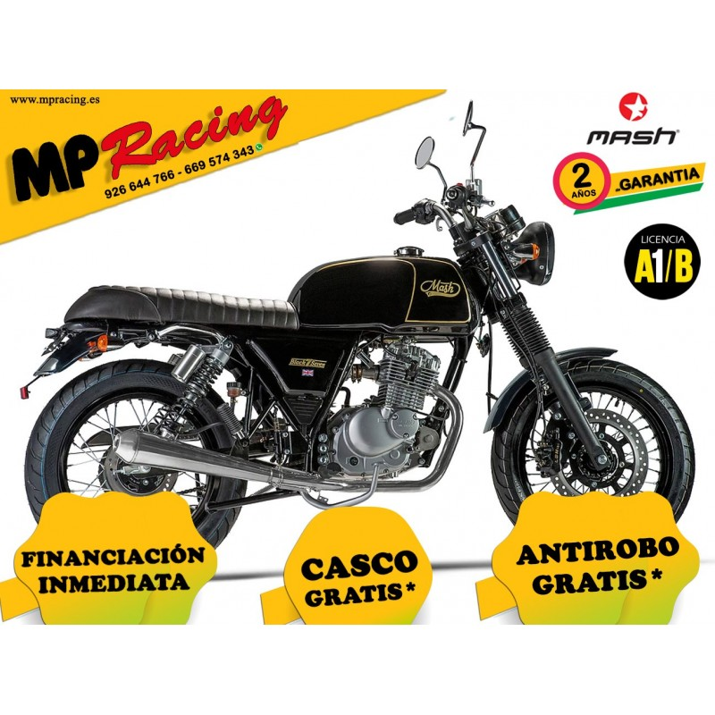 MOTO MASH BLACK SEVEN NEGRA MP