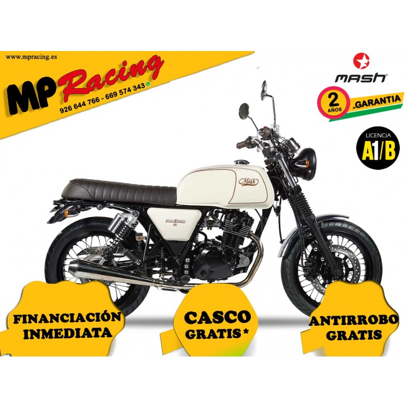 MOTO MASH BLACK SEVEN MARFIL MP