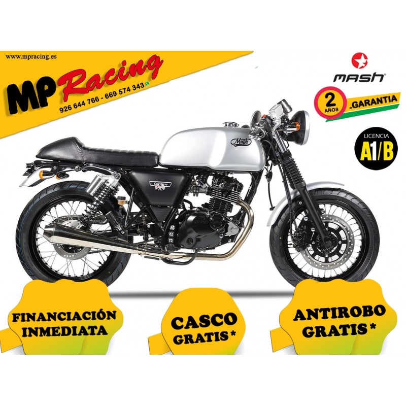 MOTO MASH CAFE RACER SILVER 125 MP