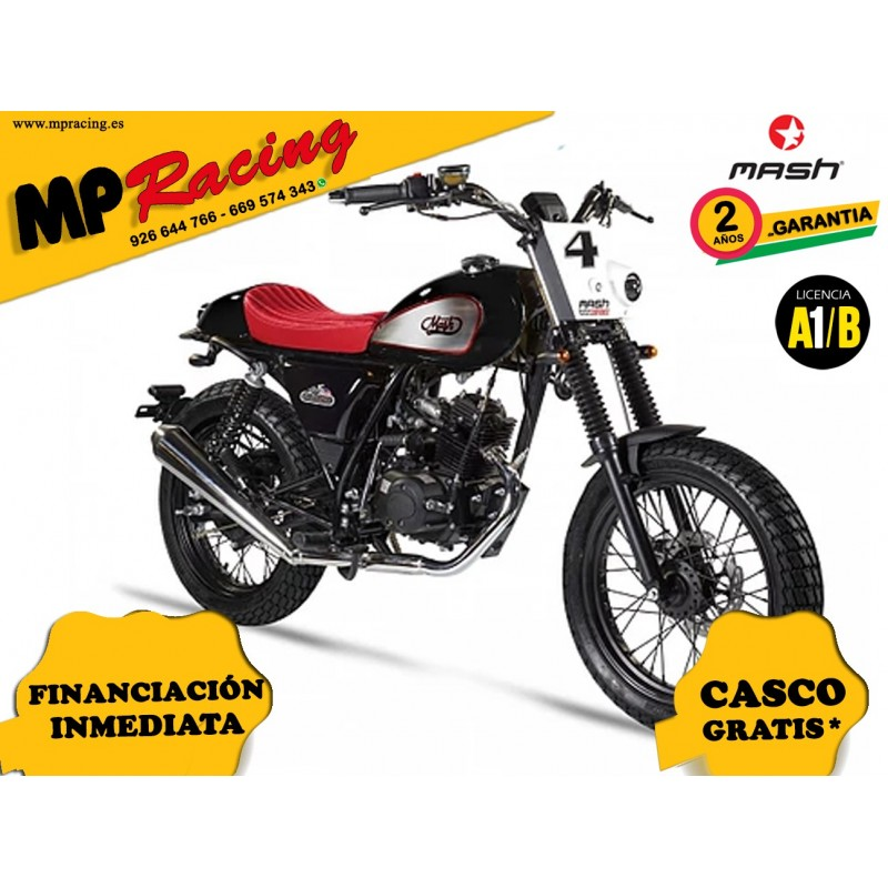 MOTO MASH DIRT TRACK FIFTY 50 NEGRO MP