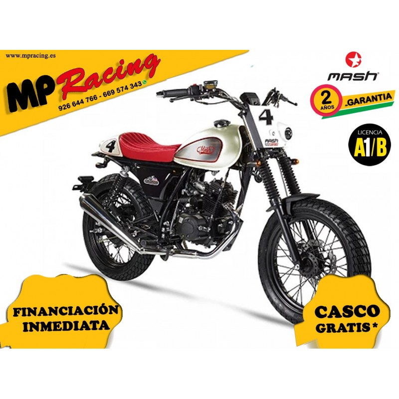 MOTO MASH DIRT TRACK FIFTY 50 BLANCO MP
