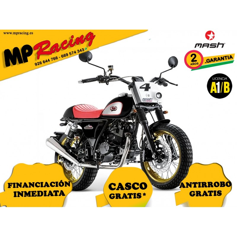 MOTO MASH DIRT TRACK 125 NEGRA MP