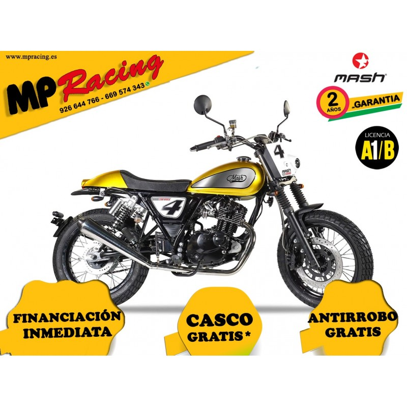 MOTO MASH DIRT TRACK 125 ORO MP
