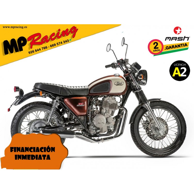 MOTO MASH FIVE HUNDRED MARRÓN MP