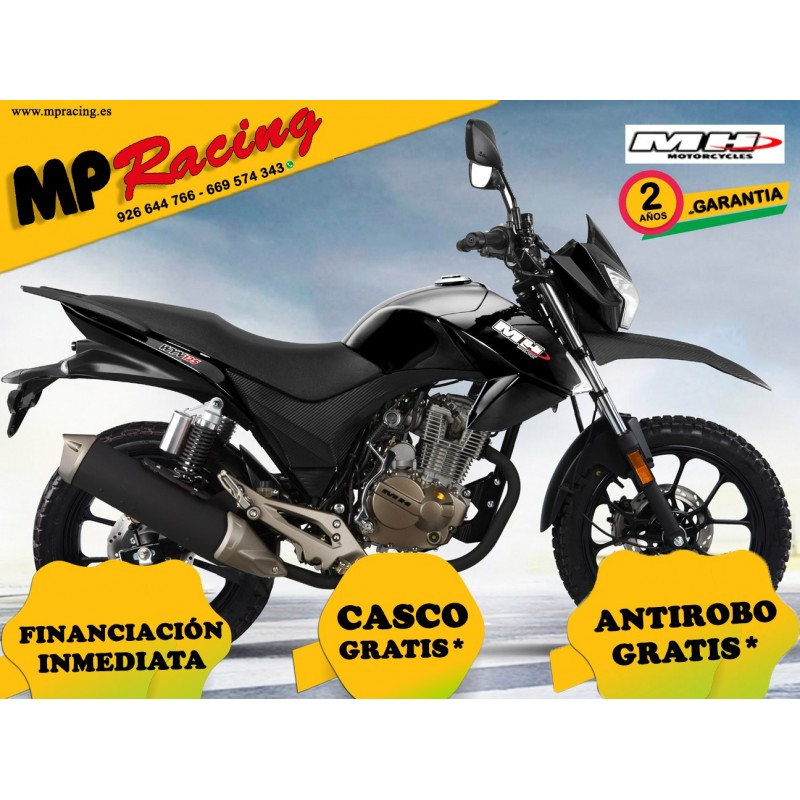 MH WYN CROSSOVER 125 - Negro