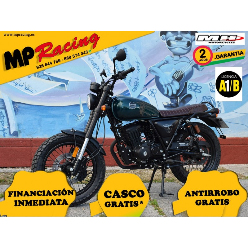 MH BOGGA ROCKET 125 AZUL VERDOSO MP