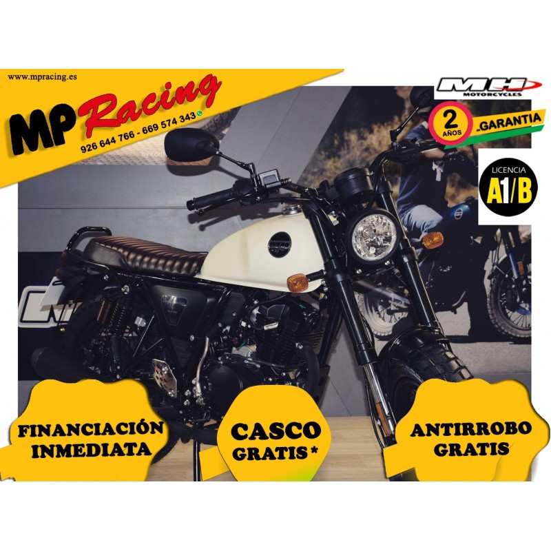 MH BOGGA ROCKET 125 CREMA MP