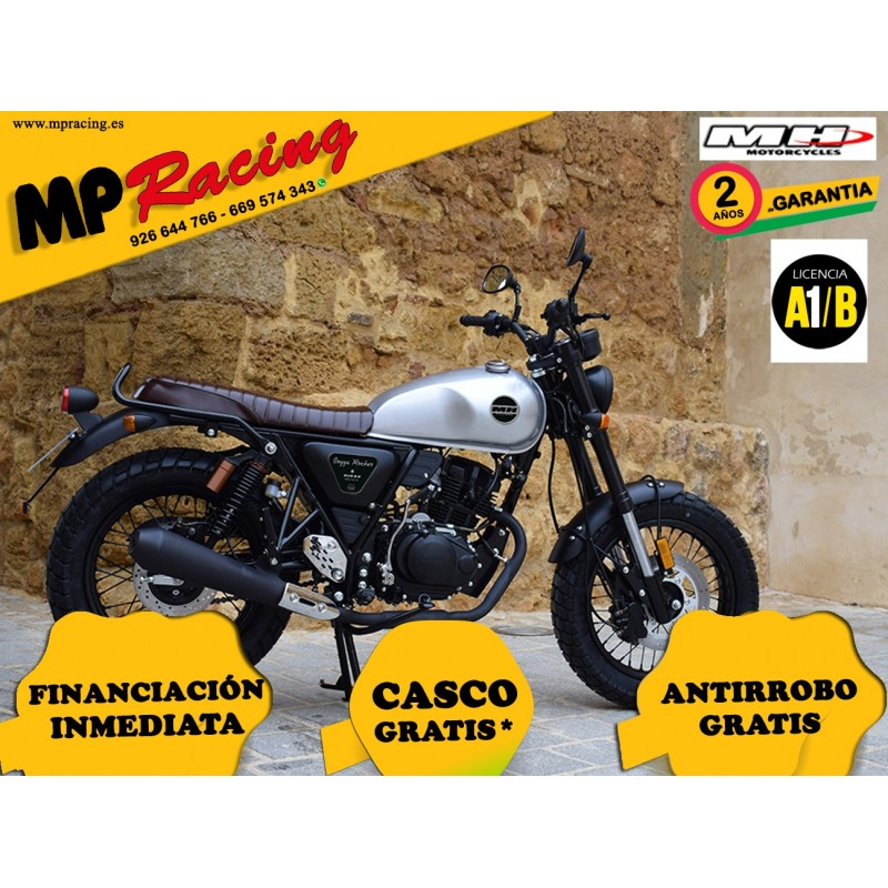 MH BOGGA ROCKET 125 GRIS MP