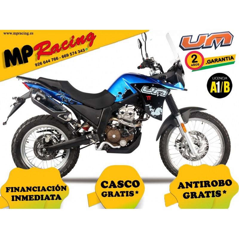 UM DSR 125 ADVENTURE TT - Azul
