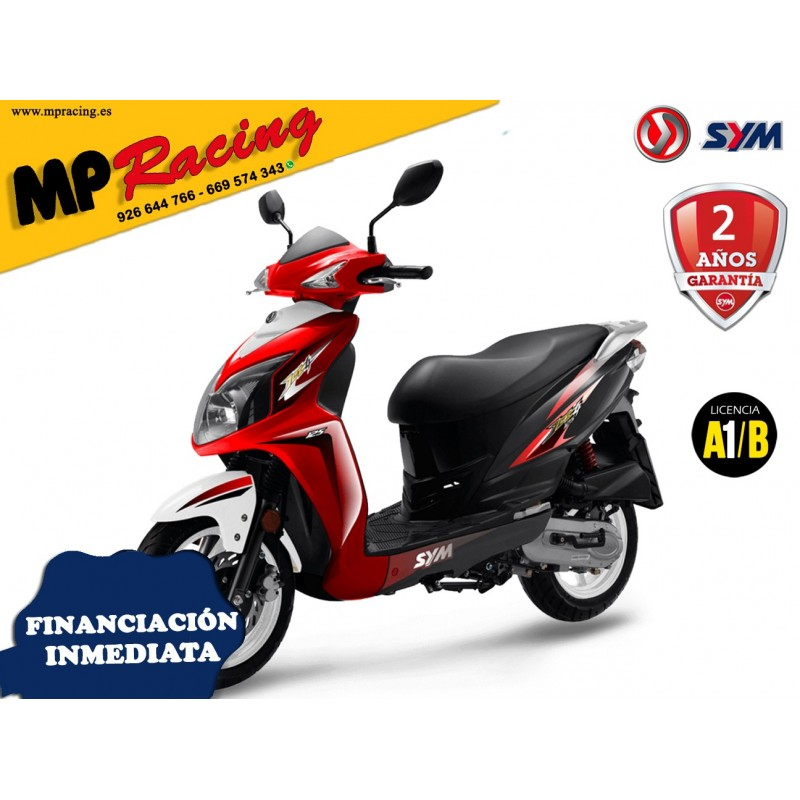 SYM JET 4 50 ROJA MP