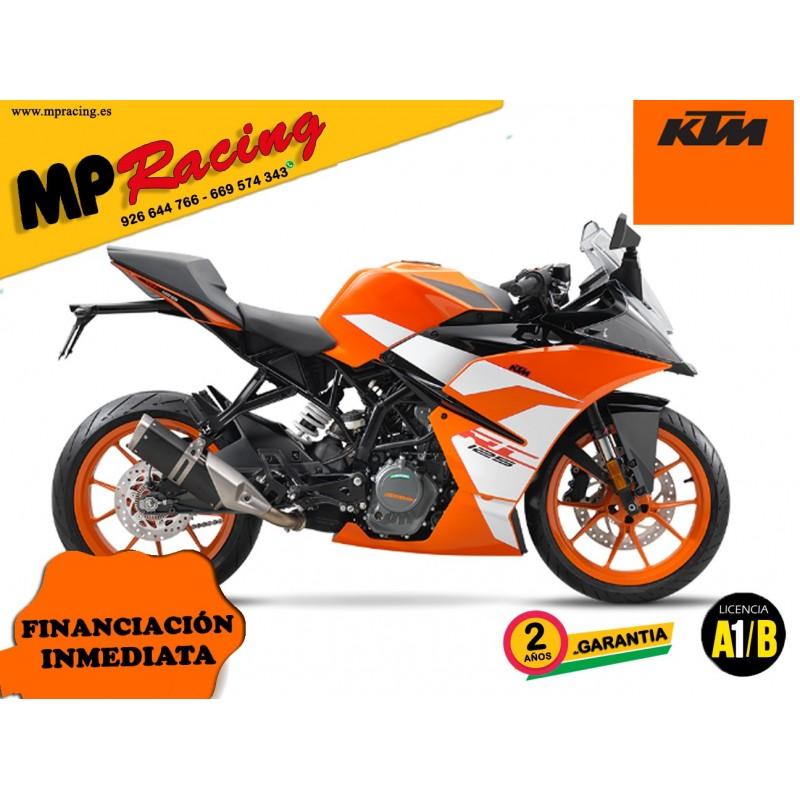 MOTO KTM RC 125 2019