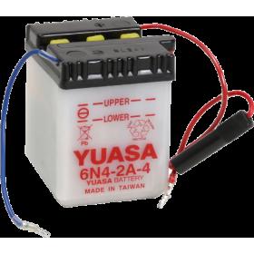 Batería Yuasa 6N2-2A-4 Dry charged (sin electrolito)
