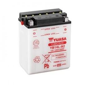 Batería Yuasa YB14-A2 Combipack (con electrolito)