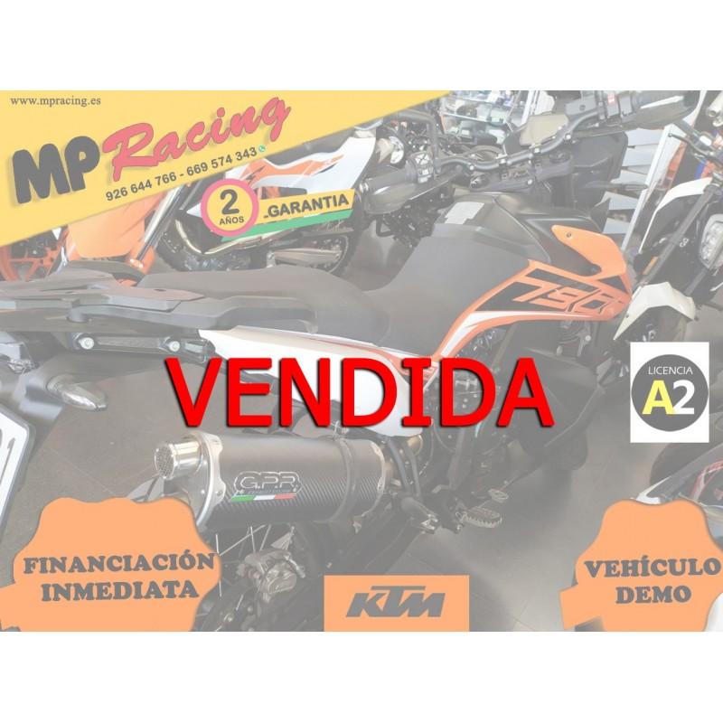 KTM 790 ADVENTURE 2019 KM0 MP VENDIDA