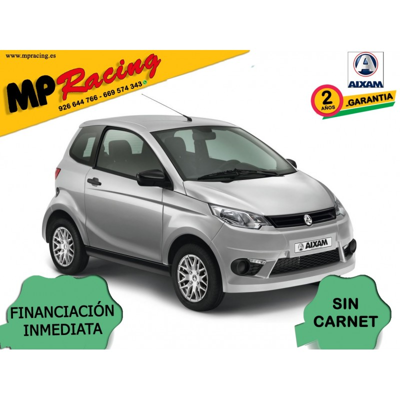 COCHE SIN CARNET AIXAM CITY PACK MP