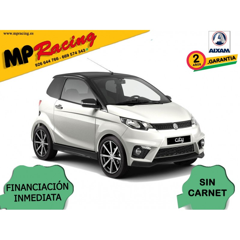 COCHE SIN CARNET AIXAM CITY GTO BLANCO MP