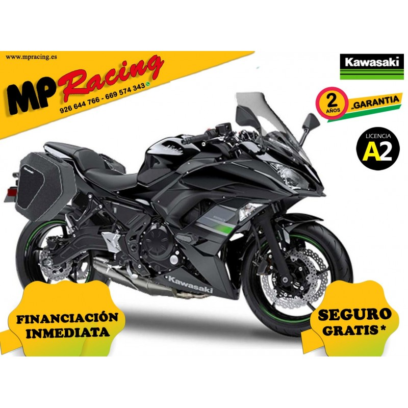 KAWASAKI NINJA 650 TOURER 2019 NEGRA MP