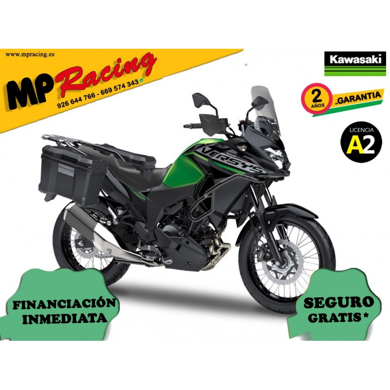 KAWASAKI VERSYS X 300 ADVENTURE VERDE MP