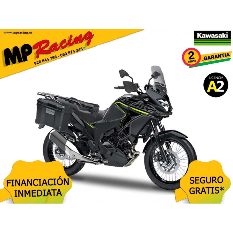 KAWASAKI VERSYS X 300 ADVENTURE NEGRA MP